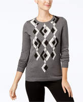 Charter Club Argyle Sweater, Created for Macy's