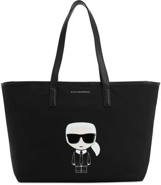 Karl Lagerfeld Paris Ikonik Nylon Tote Bag