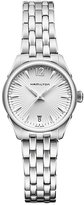 Hamilton Jazzmaster ladies' stainless steel bracelet watch