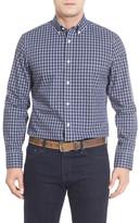 Nordstrom Smartcare(TM) Mini Plaid Sport Shirt (Big)