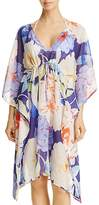 Echo Cambon Floral Dress Swim Cover-Up