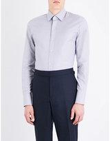 Tom Ford Micro-check Slim-fit Cotton Shirt