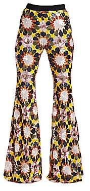 Alchemist Women's Iman Sequin Flare Pants