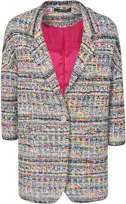 Tagliatore Tweed Oversized Blazer