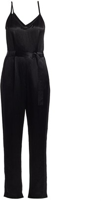 Rag & Bone Rochelle Satin Jumpsuit