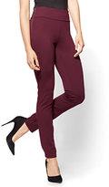 New York & Co. Soho Jeans - High-Waist Legging - Burgundy