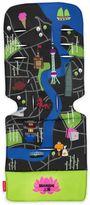 Maclaren Shanghai City Map Universal Seat Liner in Green/Blue