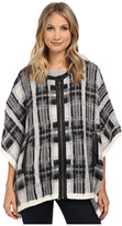 Sam Edelman Joss Plaid Cape