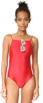 Vix Paula Hermanny Solid Drop One Piece