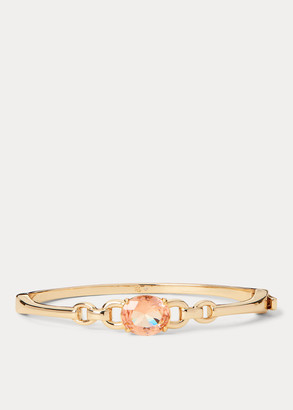 Ralph Lauren Stone Gold-Finished Bangle