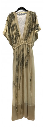 By Malene Birger Beige Polyester Dresses
