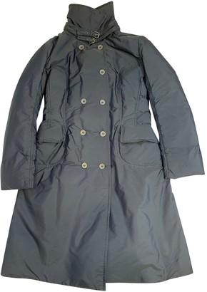 Ermanno Scervino Navy Coat for Women