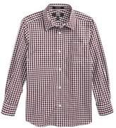 Nordstrom Check Dress Shirt (Toddler Boys, Little Boys & Big Boys)