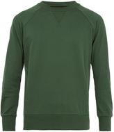 Y-3 Logo-print cotton-blend sweatshirt