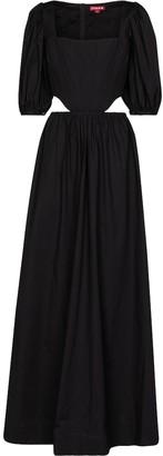 STAUD Astro cotton poplin maxi dress