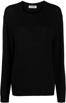 Jil Sander Long-Sleeved Crew-Neck Jumper