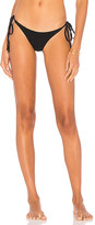 Frankie's Bikinis Frankies Bikinis Sky Bottom in Black. - size M (also in S,XS)