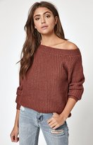MinkPink One Sided Sweater