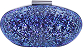 Carvela Glory Embellished Clutch Bag, Blue