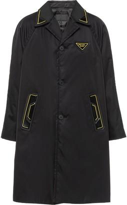 Prada Re-Nylon gabardine coat