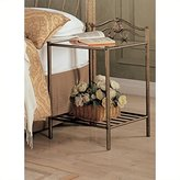 Coaster Home Furnishings 300172 Night Stand in Antique Finish Metal