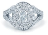 Kwiat Platinum Diamond Ring Size 6