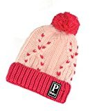 Binmer(TM) Winter Warm Child Toddler Hairball Cap Boy Girl Knit Beanie Hat Crochet (Hot Pink)