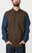 RVCA Men's Two-Tone Shirt