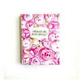 "The Well Appointed House ""Celebrate the Little Things"" Pink Peonies Journal"