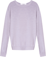 Clu Silk Back Sweater