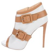 Giuseppe Zanotti Buckle-Accented Leather Booties
