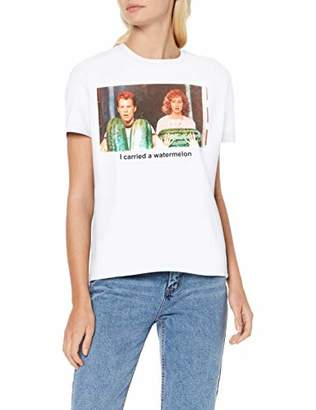 Only Women's Onldirtydancing S/s Tee JRS Box T-Shirt,10 (Size: Small)