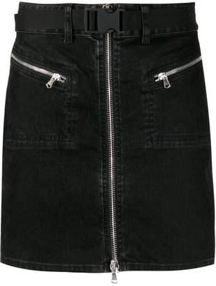 Diesel Black Gold straight denim skirt