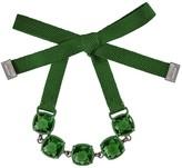 Swarovski Jewel-y Bracelet - Dark Moss Green
