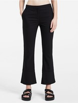 Calvin Klein Drape Twill Skinny Cropped Pants