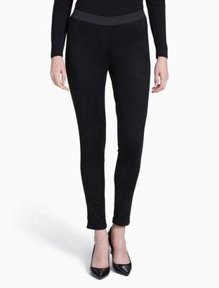 Calvin Klein Faux Suede Pants