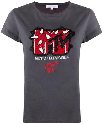 Patrizia Pepe MTV sequin T-shirt