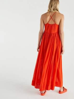 Very Cotton Parachute Maxi Dress - Orange