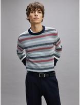 Tommy Hilfiger Diagonal Stitch Crewneck Sweater