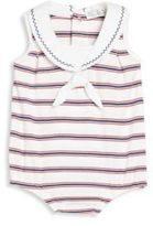 Kissy Kissy Baby's Nautical Mile Striped Bubble Bodysuit