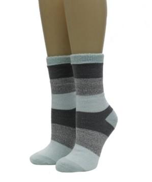 Weatherproof Women's Terry Thermal Cozy Crew Socks