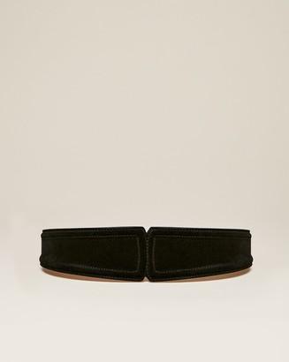 Veronica Beard Kierra Leather Belt