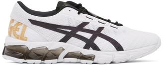 Asics White and Black Gel-Quantum 180 5 Sneakers