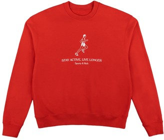 Sporty And Rich Live Longer Crewneck Sweatshirt