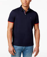 Tommy Hilfiger Men's Big & Tall Sanders Logo Fit Polo