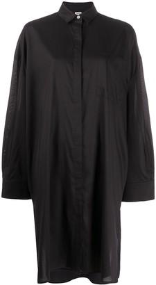 Totême Long-Sleeve Pocket Shirt Dress