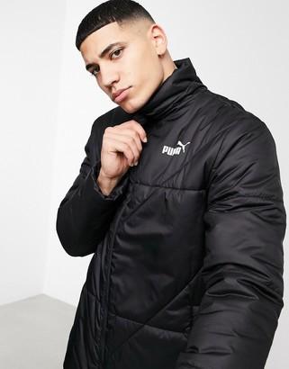 Puma ESS padded jacket in black