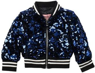 Urban Republic Sequin Bomber Jacket (Baby Girls 12-24M)