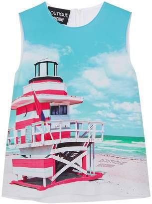 Moschino Beach-print Top