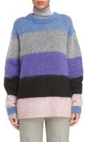 Acne Studios Women's Albah Multistripe Oversize Sweater